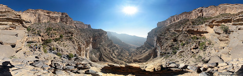 Oman's Grand Canyon (Jabal Shams) Panorama 03