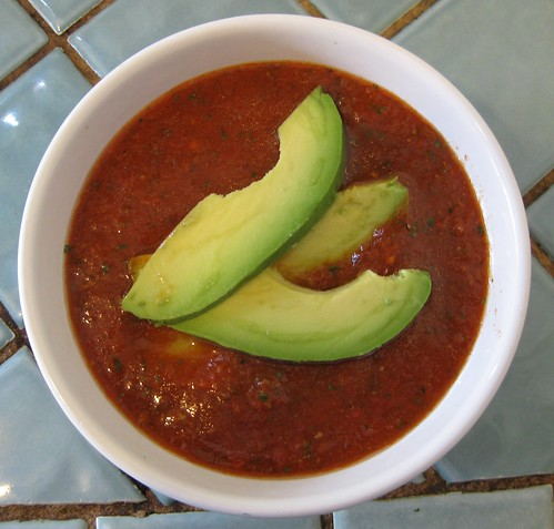 Roasted Pepper Gazpacho