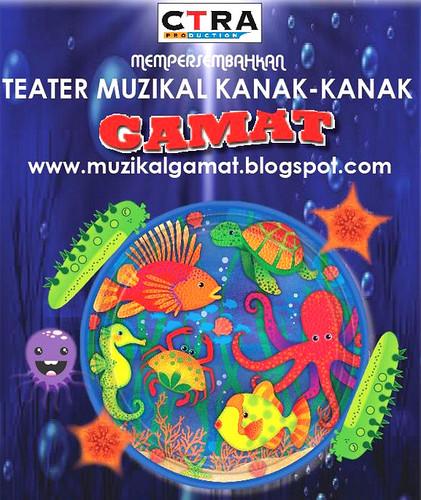 Muzikal Gamat mengisahkan tentang suka duka kehidupan di dalam laut