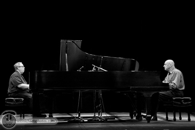Kenny Werner and Mike Wofford at Birch North Park Theatre 40710 © Michael Klayman-016