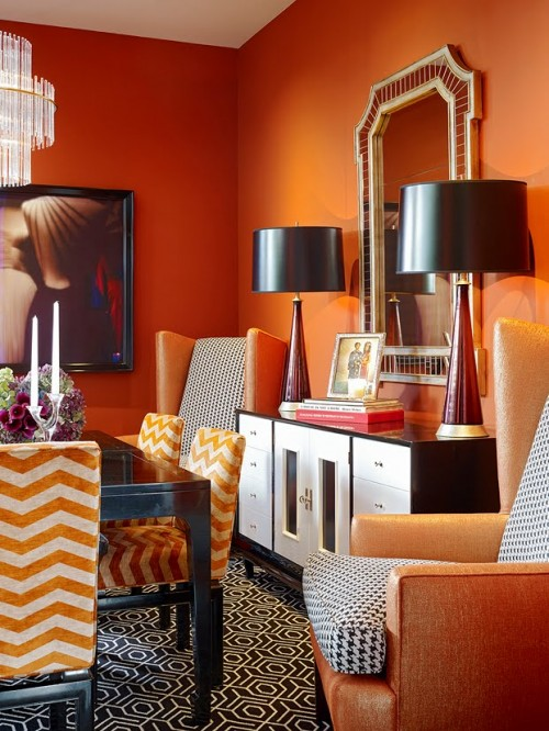 Beautiful Orange Room