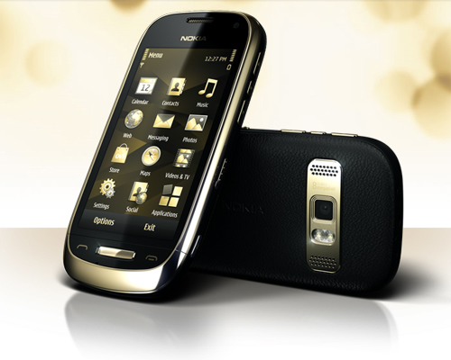Nokia Oro In Black