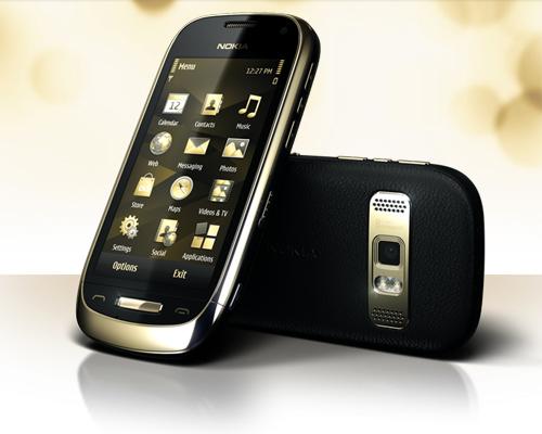Nokia Oro In Black