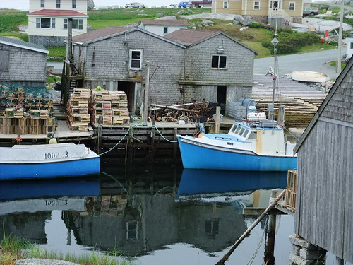 Peggy's Cove boats