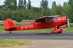 G-BTDE (QSY on-route) Tags: club fly 55 th aero in lincon sturgate egcs gbtde 04062011