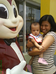 with jollibee