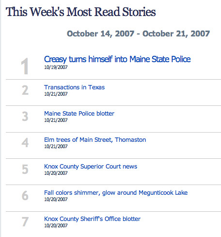 lame ass villagesoup top read stories
