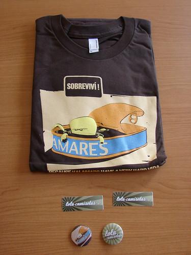 Camiseta recibida de lolacamisetas.com