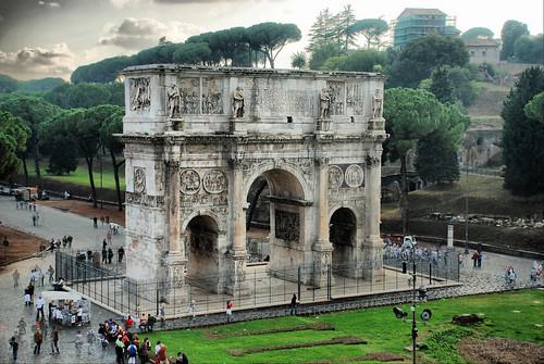 Roma. Arco de Constantino. by josemazcona.