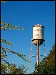 Jasper, GA Old Water Tower (Kenny Shackleford) Tags: tower georgia jasper steel watertower structure