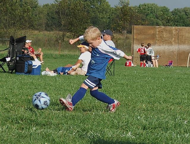 cute kids soccer