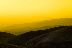 Touching the void (~mohsentaleb) Tags: sunset yellow landscape infinity lonesome omid sosmall