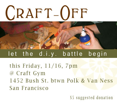 Craft Off!