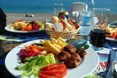Antalya Lunch on the Beach