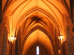 The Roof - Dornoch Cathedral (foxypar4) Tags: roof church scotland interestingness sandstone cathedral explore inside sutherland floodlit dornoch dornochcathedral mywinners aplusphoto diamondclassphotographer flickrdiamond
