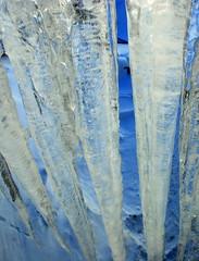 Blue stalactites (Liv ) Tags: 2 white mountain holiday 3 ice tag3 1 photo tag2 italia tag1 blu tag ivan val 09 neve monte maison montagna bianco sci aosta cervinia lazzari cervino daosta laiv breuilcervinia laivphoto breuilplan