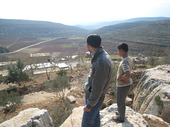 Looking out over yanoun village