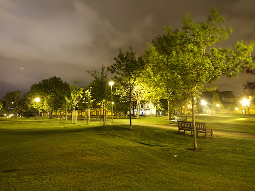 Bruntsfield Links at night by bellbellbell.