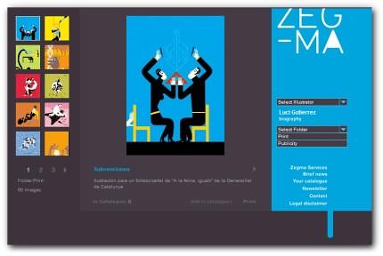 Agencia de ilustradores españoles | Zegma ceslava 0