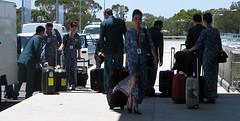 Op verzoek (bogers) Tags: blue holland netherlands blauw december nederland australia adelaide klm stewardess bogers 2007 airhostess basbogers airgirl
