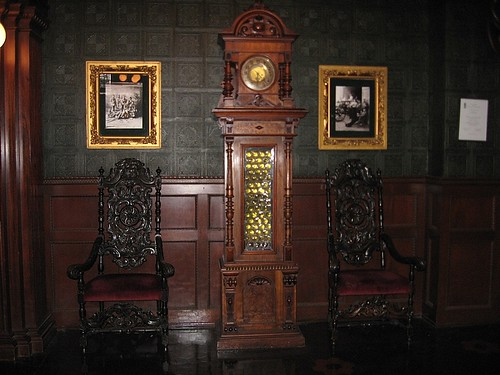 Grandpa Clock in Sitting Rm