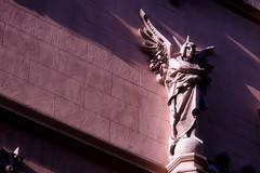 I am Raziel / Jo soc Raziel (juli_modul) Tags: barcelona sculpture angel book sony catalonia catalunya ramblas arcangel raziel llibre eclecticism dscr1 aplusphoto ltytr1 infinestyle eclecticisme