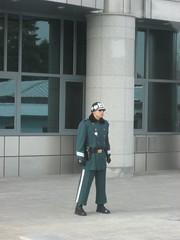 South Korean border soldier