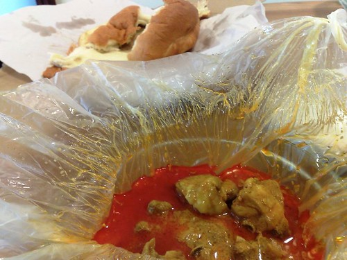 Golden Pillow Curry Chicken Bun