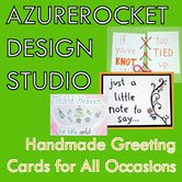 Azure Rocket - Handmade Cards