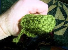 Stegosaurus leg, assembled
