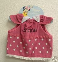 Little Minnie Mouse Baby Bib (wiweka) Tags: bibs