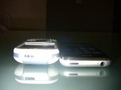 Apple iPhone & Palm Centro Compared