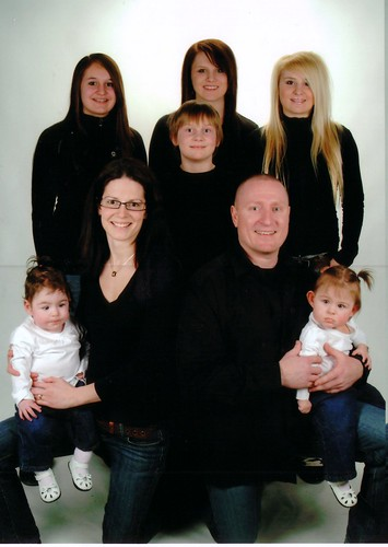 The whole Family - All eight of us!