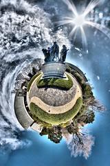 The Burghers of Calais (heiwa4126) Tags: park panorama japan geotagged tokyo ueno 360 panoramic handheld hdr hdri stereographic hugin ptgui pseudohdr d80 hapala enfuse heiwa4126 dynamicphotohdr geo:lat=357150967 geo:lon=1397754439