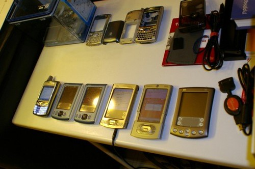 Palm Treo and PDAs