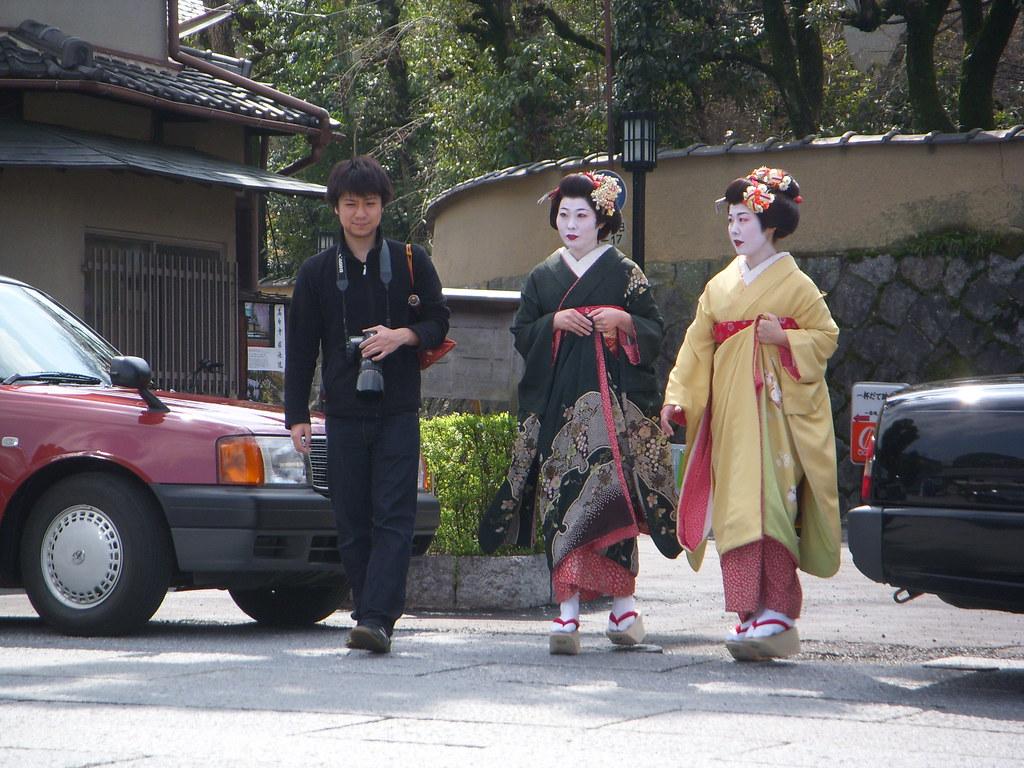 geishas por las calles