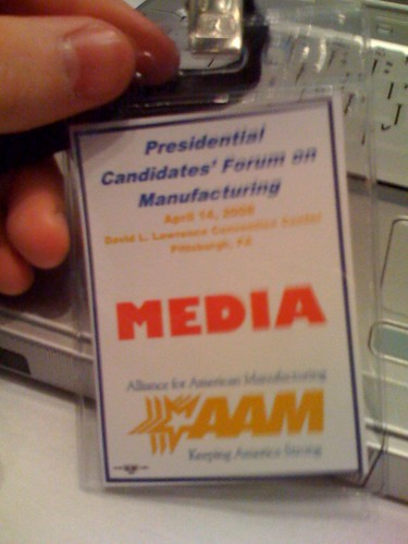 Press Badge
