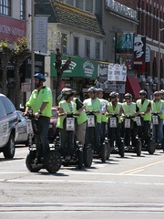 Invasion of Segway infantry!