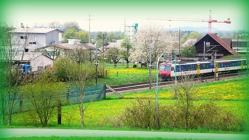Bellach-Biel train line