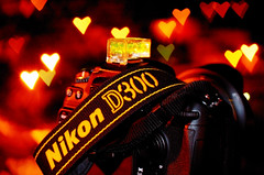 I love Nikon (Matthew Fang) Tags: camera light color love colors night d50 fun 50mm diy photo cool interesting nikon heart image experiment pic d300 abigfave aplusphoto