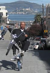 Alcatraz (schwinn parts on my swingbike)