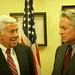Michael Douglas and Sen. Dick Lugar (R-Ind.) meet to discuss weapons of mass destruction