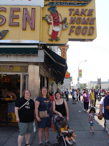 Me, Jamie & Regina in Coney Island.