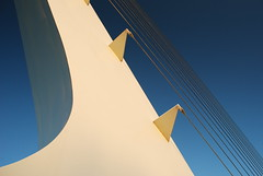 Sundial Bridge (JenVistaGaLLeRiA JeNeSiS) Tags: california bridge sculpture photography interestingness engineering calatrava suspensionbridge santiagocalatrava reddingca sundialbridge nikond60 jensphotography galleriajenesis mapusacalifornia jenvista