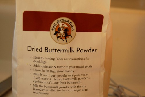 Sounds weird, but lasts longer than buttermilk.
