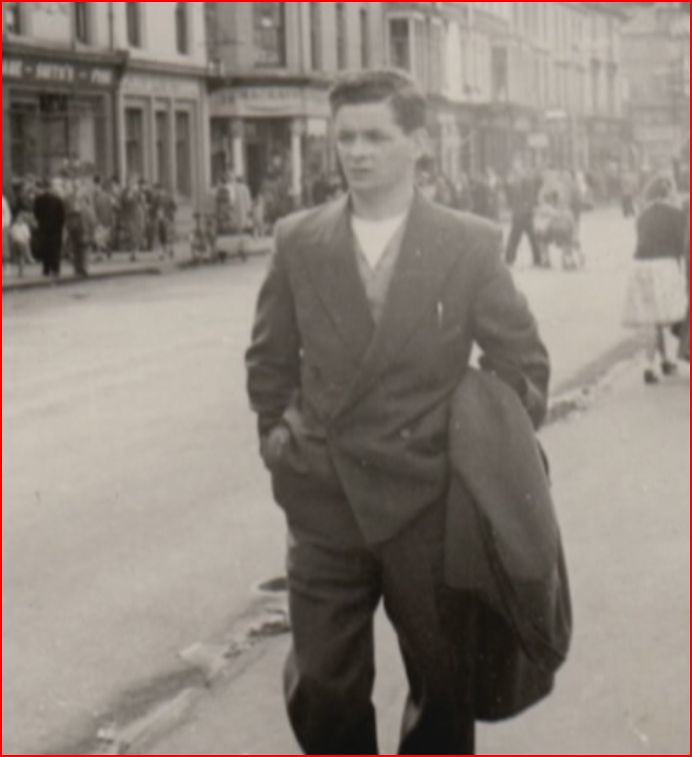 Colin Reynolds Rothesay 1952