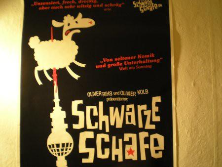 Oveja ensartada en la torre de alexanderplatz,