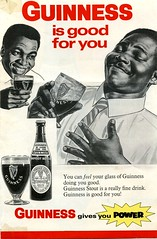 Part of a 1968 advertising sheet for Guinness after they established a brewery in Sierra Leone (West Africa) (gbaku) Tags: pictures africa west photo 60s drink photos african beverage picture sierra guinness photographs photograph drinks alcohol westafrica afrika 1960s alcoholic leone beverages sixties stout africain afrique africaine westafrican afrikas
