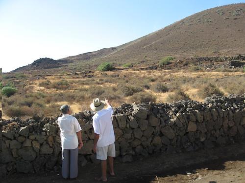 7 septiembre 2007. Bajada al carrera por el volcán
