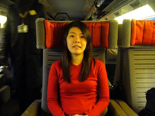 Shirley in First Class, Eurostar